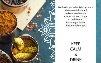 KEEP CALM & DRINK GOLDENE MILCH